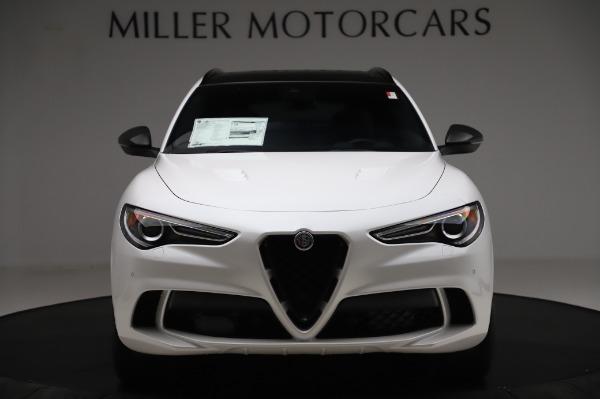 New 2020 Alfa Romeo Stelvio Quadrifoglio for sale $89,145 at Bugatti of Greenwich in Greenwich CT 06830 12