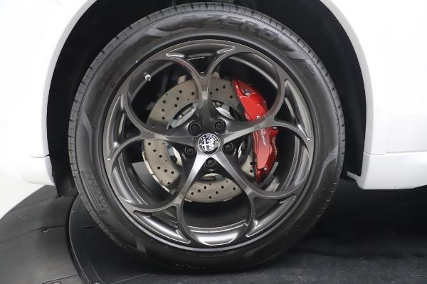 New 2020 Alfa Romeo Stelvio Quadrifoglio for sale $89,145 at Bugatti of Greenwich in Greenwich CT 06830 16