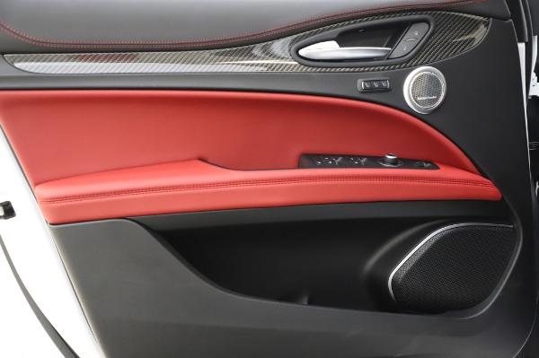 New 2020 Alfa Romeo Stelvio Quadrifoglio for sale $89,145 at Bugatti of Greenwich in Greenwich CT 06830 26