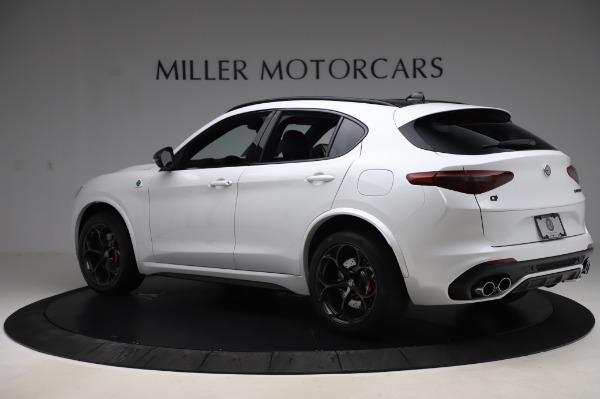 New 2020 Alfa Romeo Stelvio Quadrifoglio for sale $89,145 at Bugatti of Greenwich in Greenwich CT 06830 4