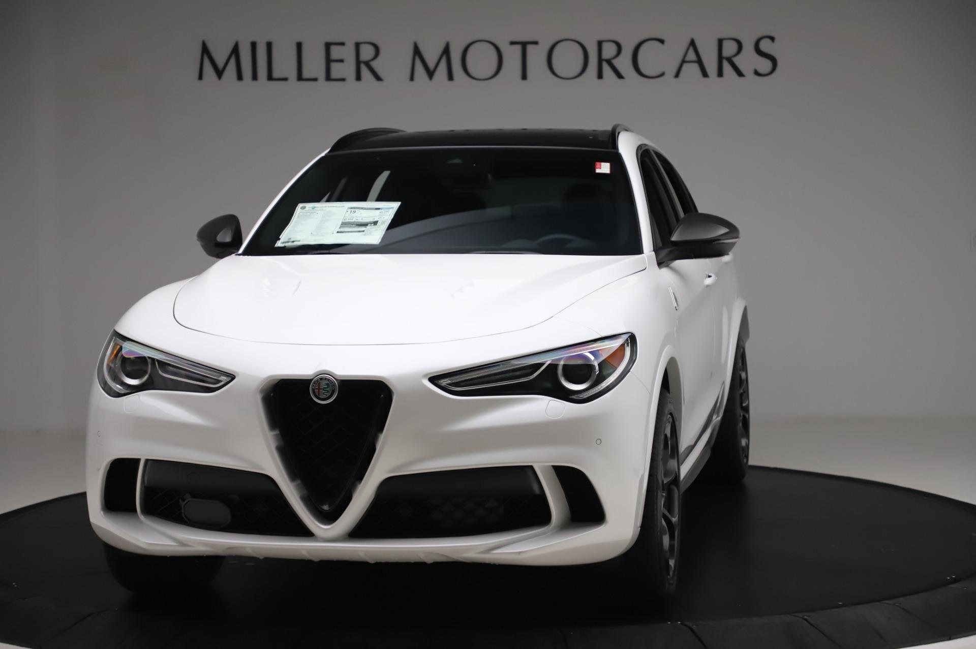 New 2020 Alfa Romeo Stelvio Quadrifoglio for sale $89,145 at Bugatti of Greenwich in Greenwich CT 06830 1
