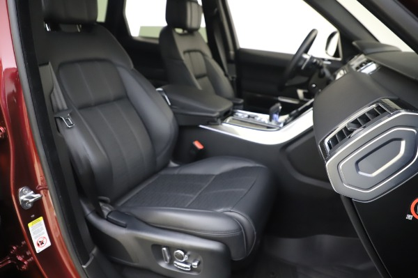 Used 2019 Land Rover Range Rover Sport Autobiography for sale $89,900 at Bugatti of Greenwich in Greenwich CT 06830 22