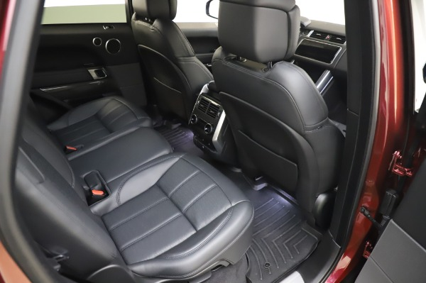 Used 2019 Land Rover Range Rover Sport Autobiography for sale $89,900 at Bugatti of Greenwich in Greenwich CT 06830 23