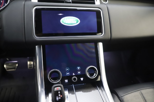 Used 2019 Land Rover Range Rover Sport Autobiography for sale $89,900 at Bugatti of Greenwich in Greenwich CT 06830 26