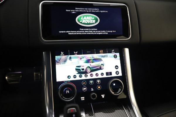 Used 2019 Land Rover Range Rover Sport Autobiography for sale $89,900 at Bugatti of Greenwich in Greenwich CT 06830 27
