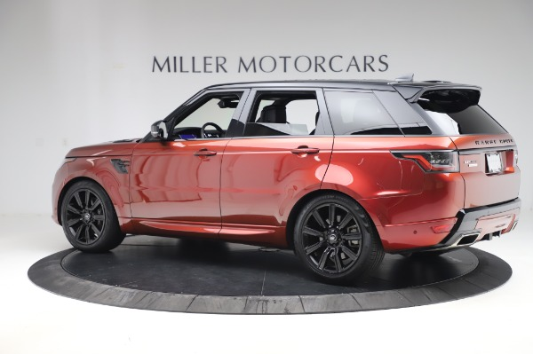 Used 2019 Land Rover Range Rover Sport Autobiography for sale $89,900 at Bugatti of Greenwich in Greenwich CT 06830 4