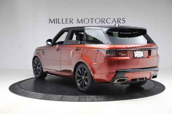 Used 2019 Land Rover Range Rover Sport Autobiography for sale $89,900 at Bugatti of Greenwich in Greenwich CT 06830 5