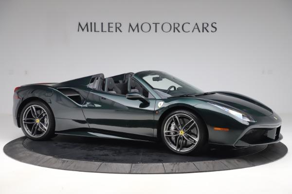 Used 2019 Ferrari 488 Spider Base for sale $329,900 at Bugatti of Greenwich in Greenwich CT 06830 10