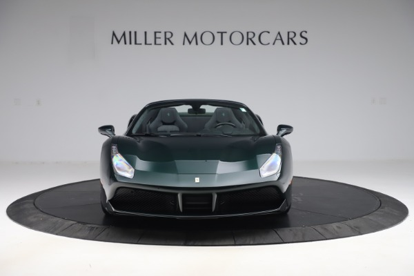 Used 2019 Ferrari 488 Spider Base for sale $329,900 at Bugatti of Greenwich in Greenwich CT 06830 12