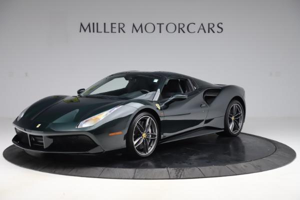 Used 2019 Ferrari 488 Spider Base for sale $329,900 at Bugatti of Greenwich in Greenwich CT 06830 13