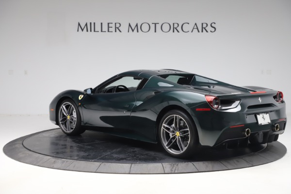 Used 2019 Ferrari 488 Spider Base for sale $329,900 at Bugatti of Greenwich in Greenwich CT 06830 15