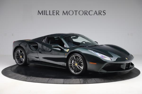 Used 2019 Ferrari 488 Spider Base for sale $329,900 at Bugatti of Greenwich in Greenwich CT 06830 18