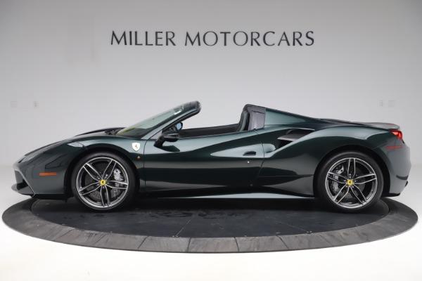 Used 2019 Ferrari 488 Spider Base for sale $329,900 at Bugatti of Greenwich in Greenwich CT 06830 3