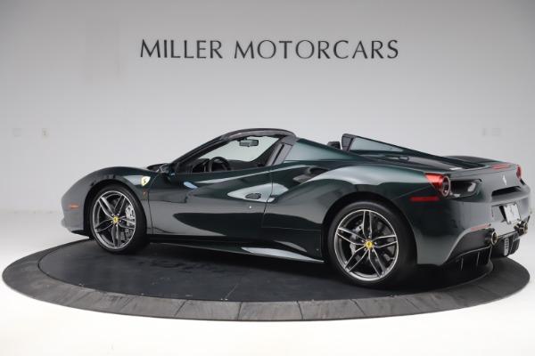 Used 2019 Ferrari 488 Spider Base for sale $329,900 at Bugatti of Greenwich in Greenwich CT 06830 4