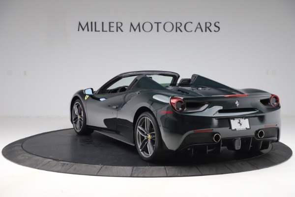 Used 2019 Ferrari 488 Spider Base for sale $329,900 at Bugatti of Greenwich in Greenwich CT 06830 5