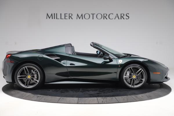 Used 2019 Ferrari 488 Spider Base for sale $329,900 at Bugatti of Greenwich in Greenwich CT 06830 9