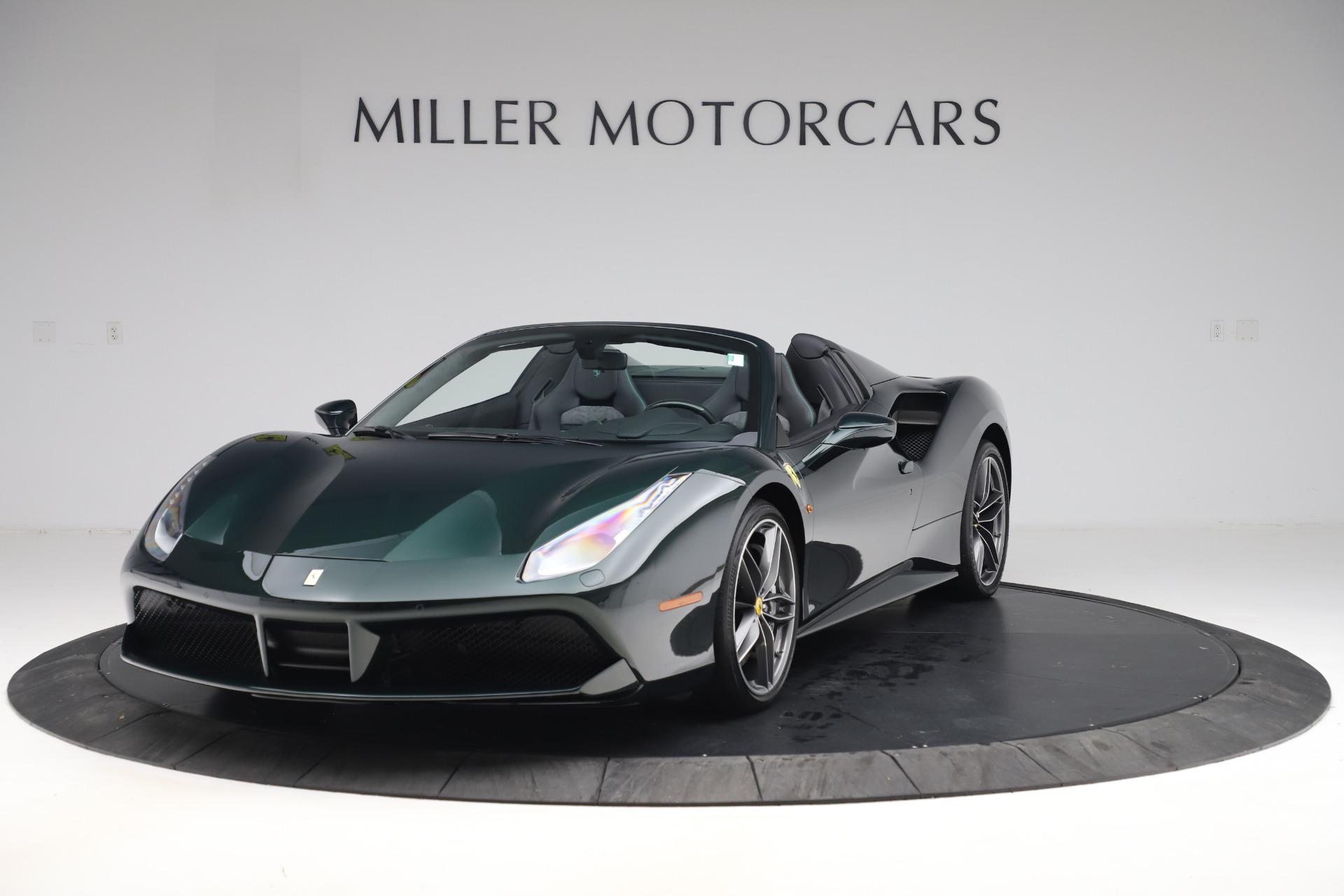 Used 2019 Ferrari 488 Spider Base for sale $329,900 at Bugatti of Greenwich in Greenwich CT 06830 1