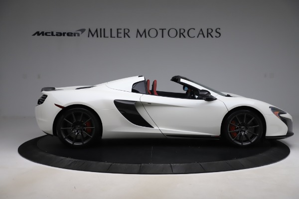 Used 2016 McLaren 650S Spider for sale $159,900 at Bugatti of Greenwich in Greenwich CT 06830 10