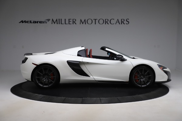 Used 2016 McLaren 650S Spider for sale $159,900 at Bugatti of Greenwich in Greenwich CT 06830 11