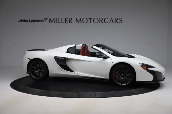 Used 2016 McLaren 650S Spider for sale $159,900 at Bugatti of Greenwich in Greenwich CT 06830 12