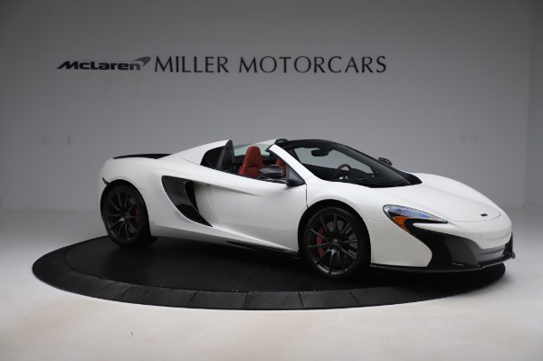 Used 2016 McLaren 650S Spider for sale $159,900 at Bugatti of Greenwich in Greenwich CT 06830 13