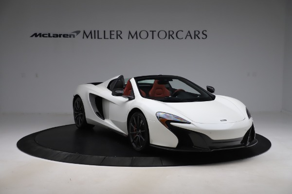 Used 2016 McLaren 650S Spider for sale $159,900 at Bugatti of Greenwich in Greenwich CT 06830 14
