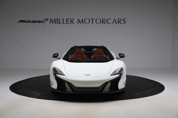 Used 2016 McLaren 650S Spider for sale $159,900 at Bugatti of Greenwich in Greenwich CT 06830 15