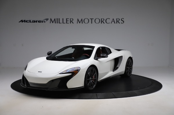 Used 2016 McLaren 650S Spider for sale $159,900 at Bugatti of Greenwich in Greenwich CT 06830 16