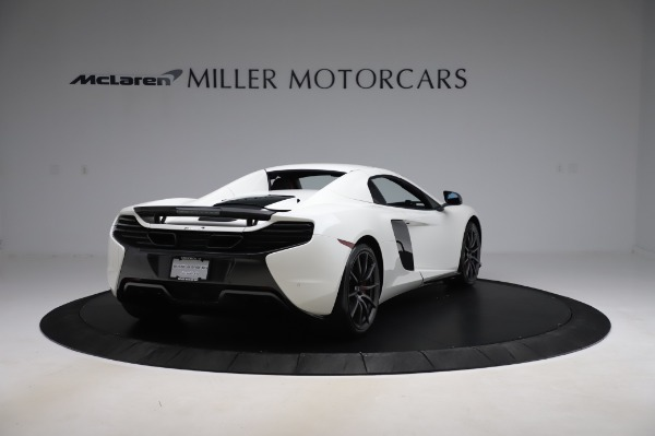 Used 2016 McLaren 650S Spider for sale $159,900 at Bugatti of Greenwich in Greenwich CT 06830 22