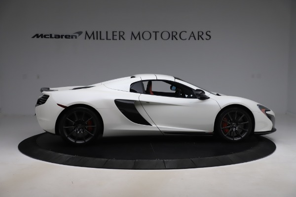Used 2016 McLaren 650S Spider for sale $159,900 at Bugatti of Greenwich in Greenwich CT 06830 24