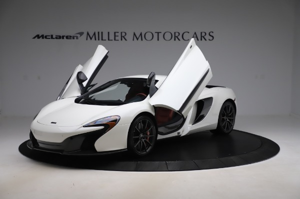 Used 2016 McLaren 650S Spider for sale $159,900 at Bugatti of Greenwich in Greenwich CT 06830 28
