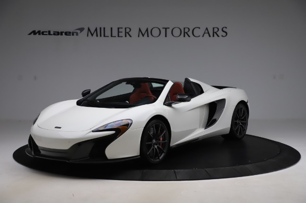 Used 2016 McLaren 650S Spider for sale $159,900 at Bugatti of Greenwich in Greenwich CT 06830 1