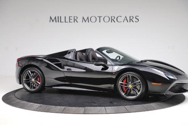 Used 2018 Ferrari 488 Spider for sale $289,900 at Bugatti of Greenwich in Greenwich CT 06830 10