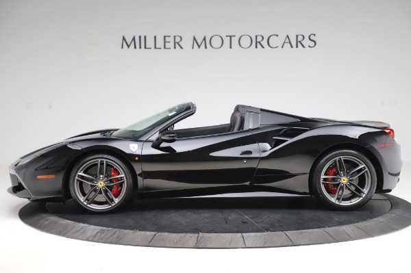 Used 2018 Ferrari 488 Spider for sale $289,900 at Bugatti of Greenwich in Greenwich CT 06830 3