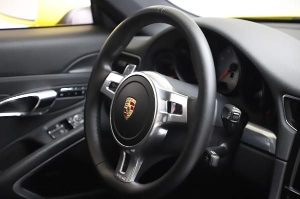 Used 2013 Porsche 911 Carrera 4S for sale $74,900 at Bugatti of Greenwich in Greenwich CT 06830 23