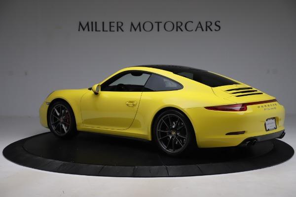 Used 2013 Porsche 911 Carrera 4S for sale $74,900 at Bugatti of Greenwich in Greenwich CT 06830 4