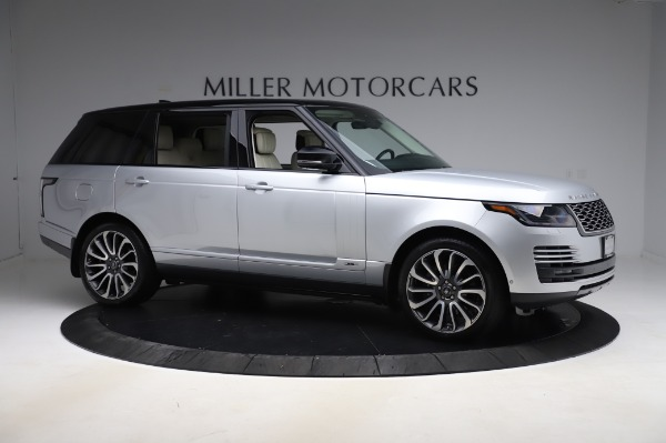 Used 2019 Land Rover Range Rover Supercharged LWB for sale Sold at Bugatti of Greenwich in Greenwich CT 06830 10