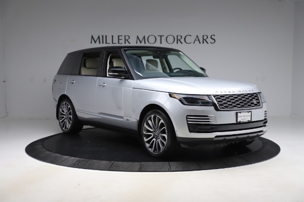 Used 2019 Land Rover Range Rover Supercharged LWB for sale Sold at Bugatti of Greenwich in Greenwich CT 06830 11