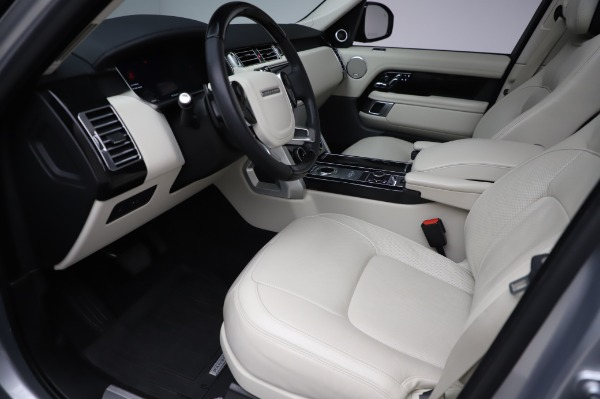 Used 2019 Land Rover Range Rover Supercharged LWB for sale Sold at Bugatti of Greenwich in Greenwich CT 06830 13