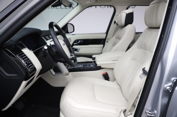 Used 2019 Land Rover Range Rover Supercharged LWB for sale Sold at Bugatti of Greenwich in Greenwich CT 06830 14