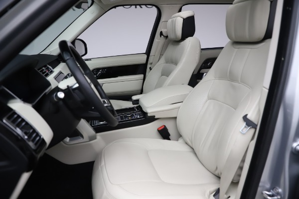 Used 2019 Land Rover Range Rover Supercharged LWB for sale Sold at Bugatti of Greenwich in Greenwich CT 06830 15