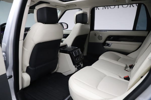 Used 2019 Land Rover Range Rover Supercharged LWB for sale Sold at Bugatti of Greenwich in Greenwich CT 06830 16