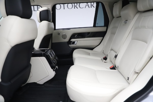 Used 2019 Land Rover Range Rover Supercharged LWB for sale Sold at Bugatti of Greenwich in Greenwich CT 06830 17