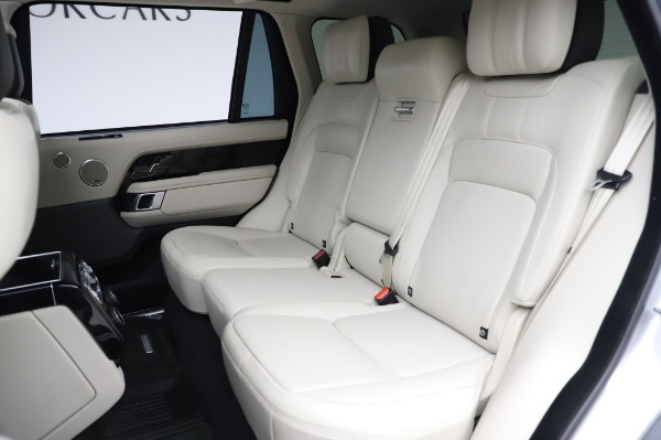 Used 2019 Land Rover Range Rover Supercharged LWB for sale Sold at Bugatti of Greenwich in Greenwich CT 06830 19