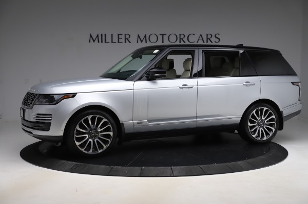 Used 2019 Land Rover Range Rover Supercharged LWB for sale Sold at Bugatti of Greenwich in Greenwich CT 06830 2