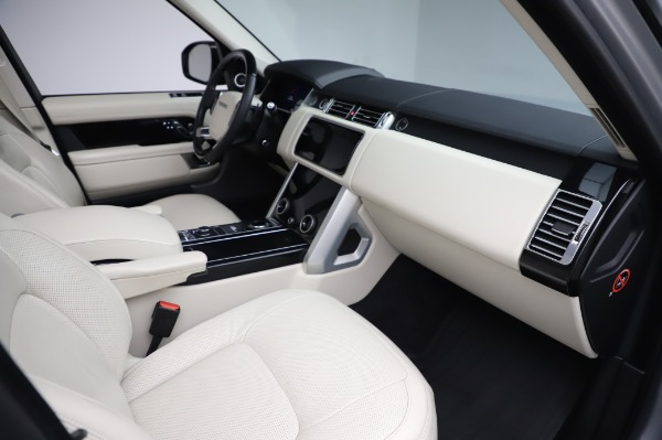 Used 2019 Land Rover Range Rover Supercharged LWB for sale Sold at Bugatti of Greenwich in Greenwich CT 06830 20