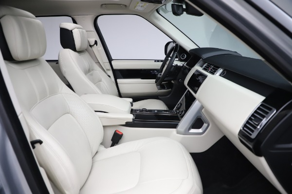 Used 2019 Land Rover Range Rover Supercharged LWB for sale Sold at Bugatti of Greenwich in Greenwich CT 06830 21
