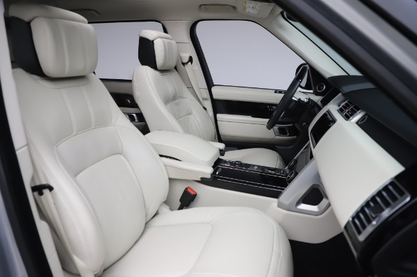 Used 2019 Land Rover Range Rover Supercharged LWB for sale Sold at Bugatti of Greenwich in Greenwich CT 06830 22