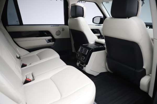 Used 2019 Land Rover Range Rover Supercharged LWB for sale Sold at Bugatti of Greenwich in Greenwich CT 06830 23