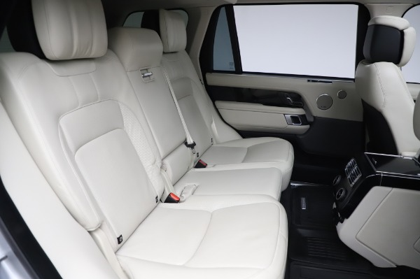 Used 2019 Land Rover Range Rover Supercharged LWB for sale Sold at Bugatti of Greenwich in Greenwich CT 06830 24